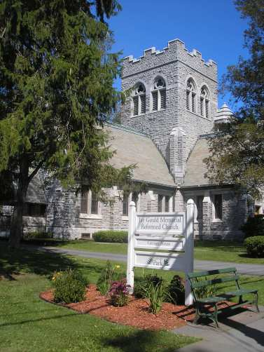 Jay Gould Memorial Church in Roxbury, NY