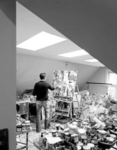 Adam Cohen in the Studio. Photo Credit: John Merriman. Contributed Photo.