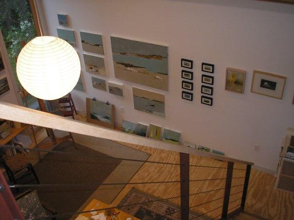 Amy Masters' studio in Arkville