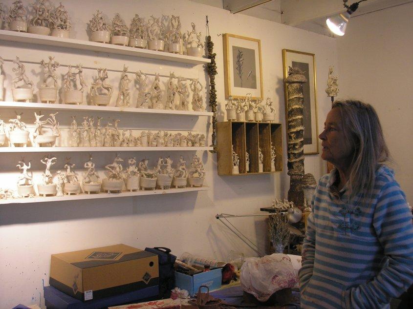 Van Leeuwen showing animal inspired porcelains