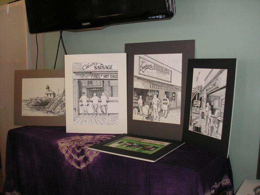 Kathleen Green's Jersey Shore prints