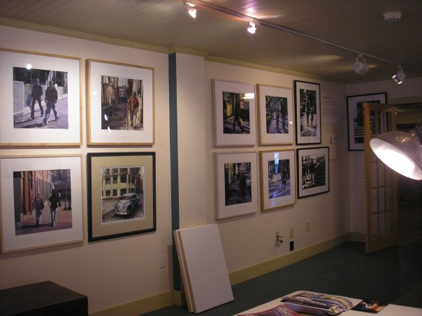 Lisbeth Firmin's prints in the Commons Building