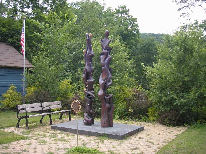 Mark Pilato's Ascent (9/11 Memorial in Halcottsville)