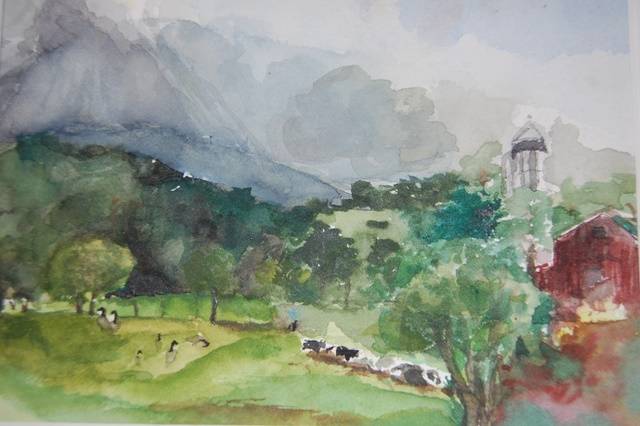 Landscape by Wong