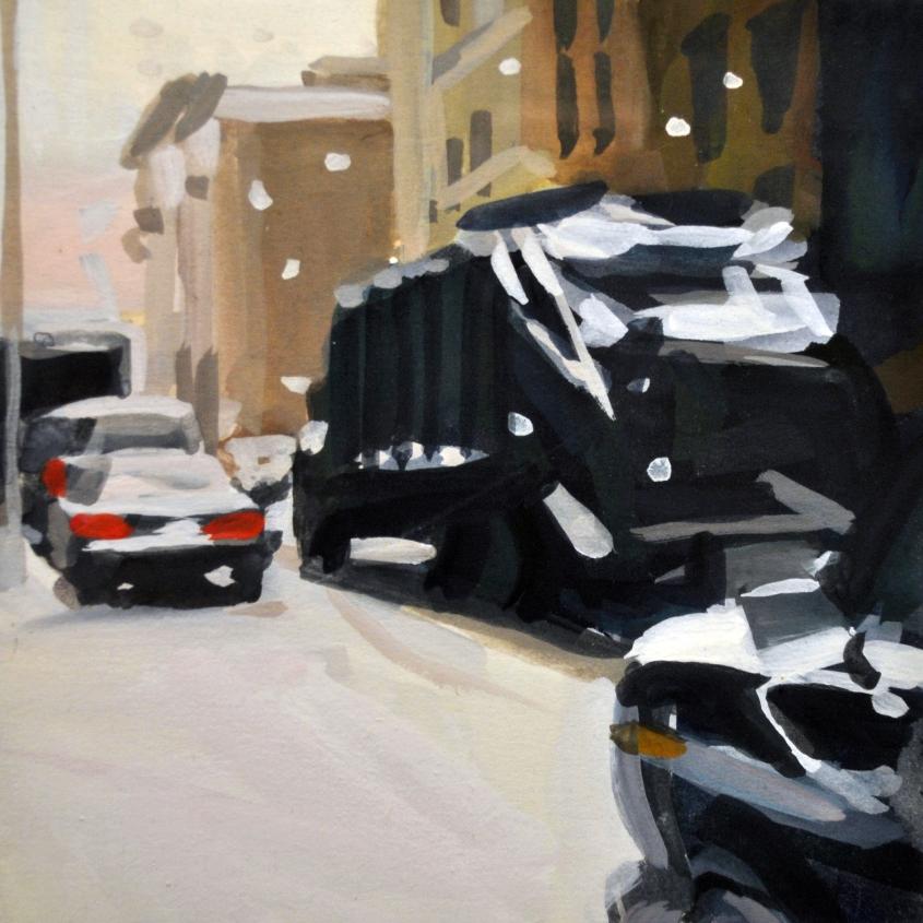Garbage Truck/Snowstorm