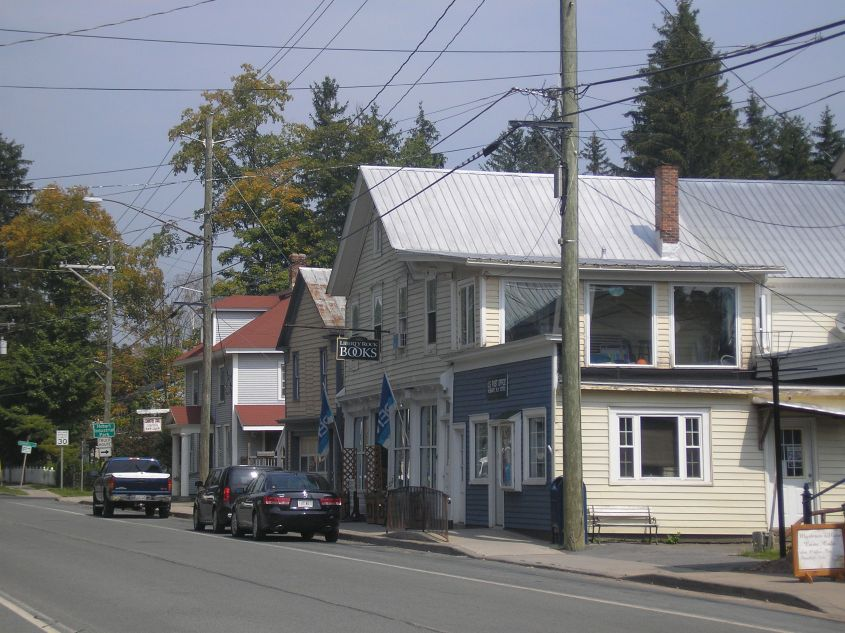 Hobart, the Book Village of the Catskills