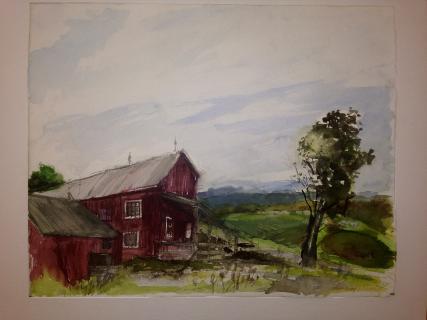 Landscape painting by Ellen Wong. Contributed photos.