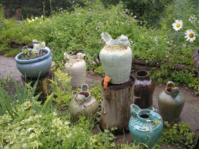 Peter and Gerda's Ceramics Garden