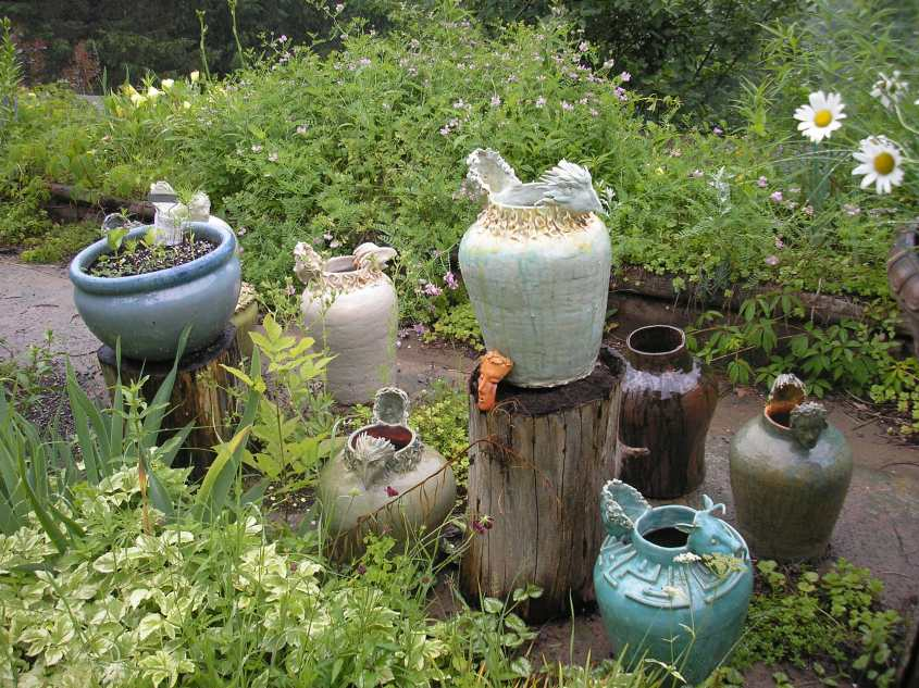 Peter and Gerda's Ceramics Garden