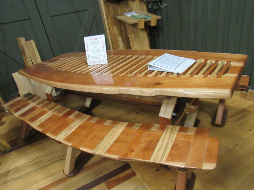 Xylophone Table by Gary Mead