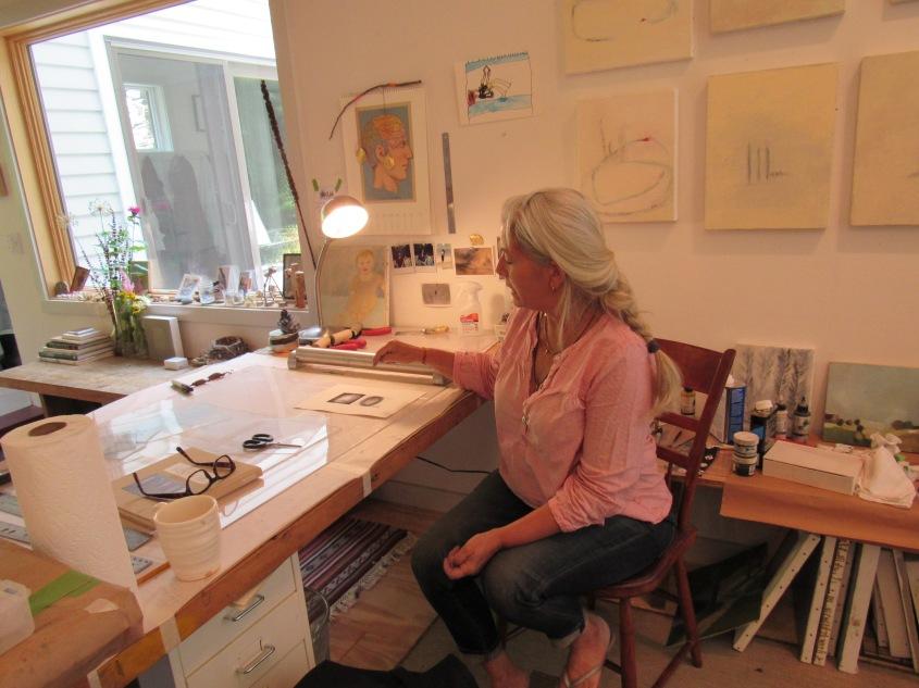 Amy Masters at Her Desk. © Simona David