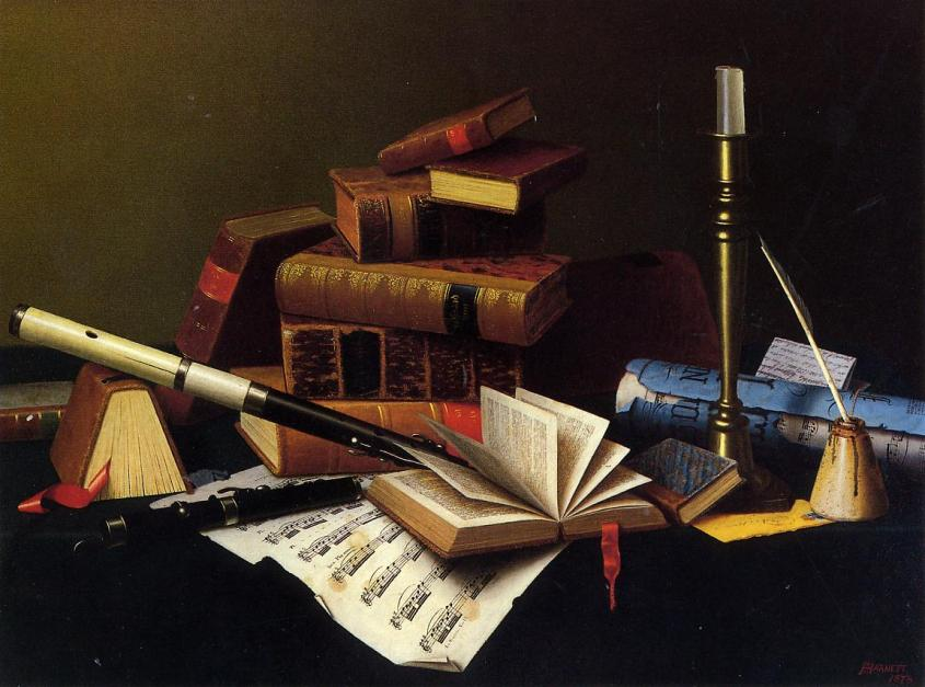 Music_and_Literature_William_Michael_Harnett 1878