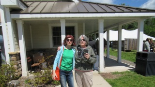 Simona David with Leslie T. Sharpe