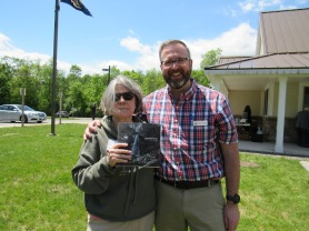 Leslie T. Sharpe with Jeff Centerman